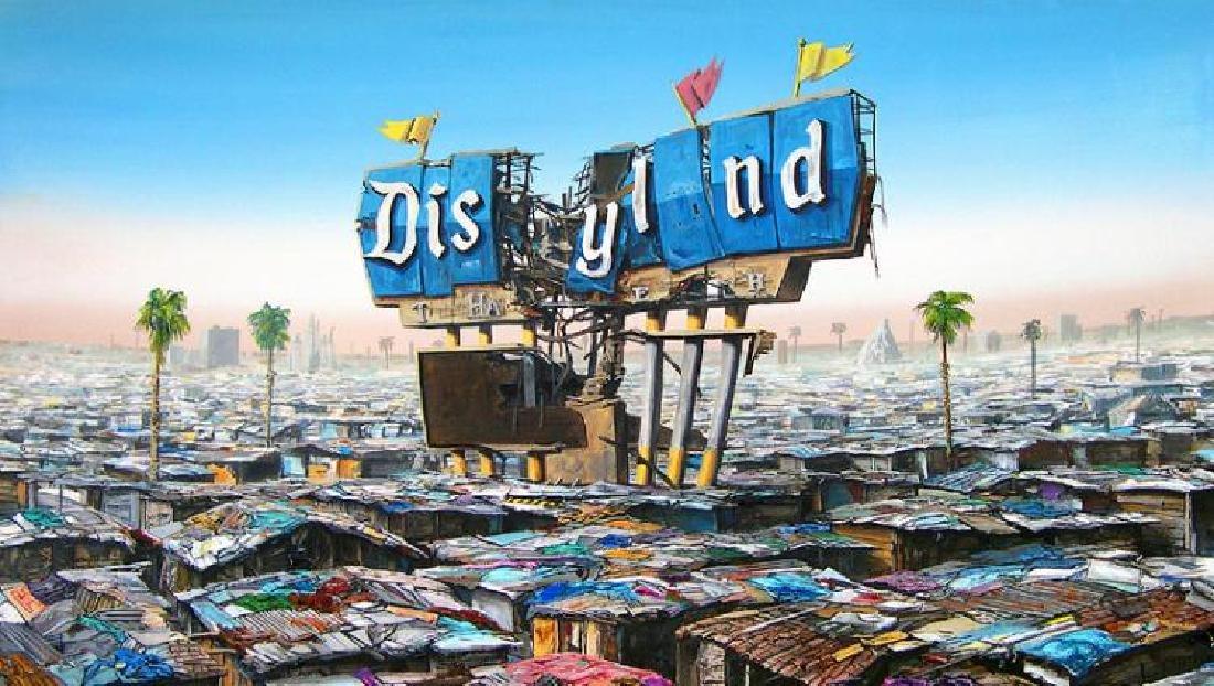Banksy DISMALAND Show. 2015 Jeff Gillette