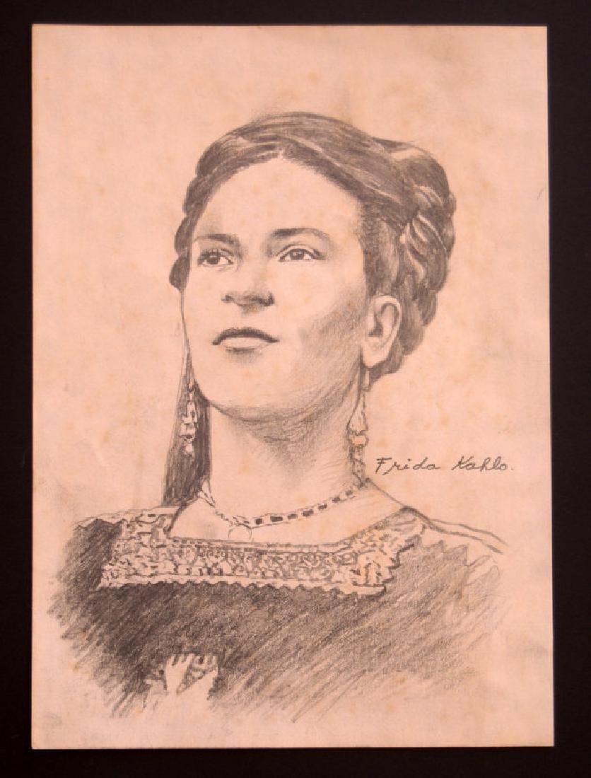 Frida Kahlo, Drawing