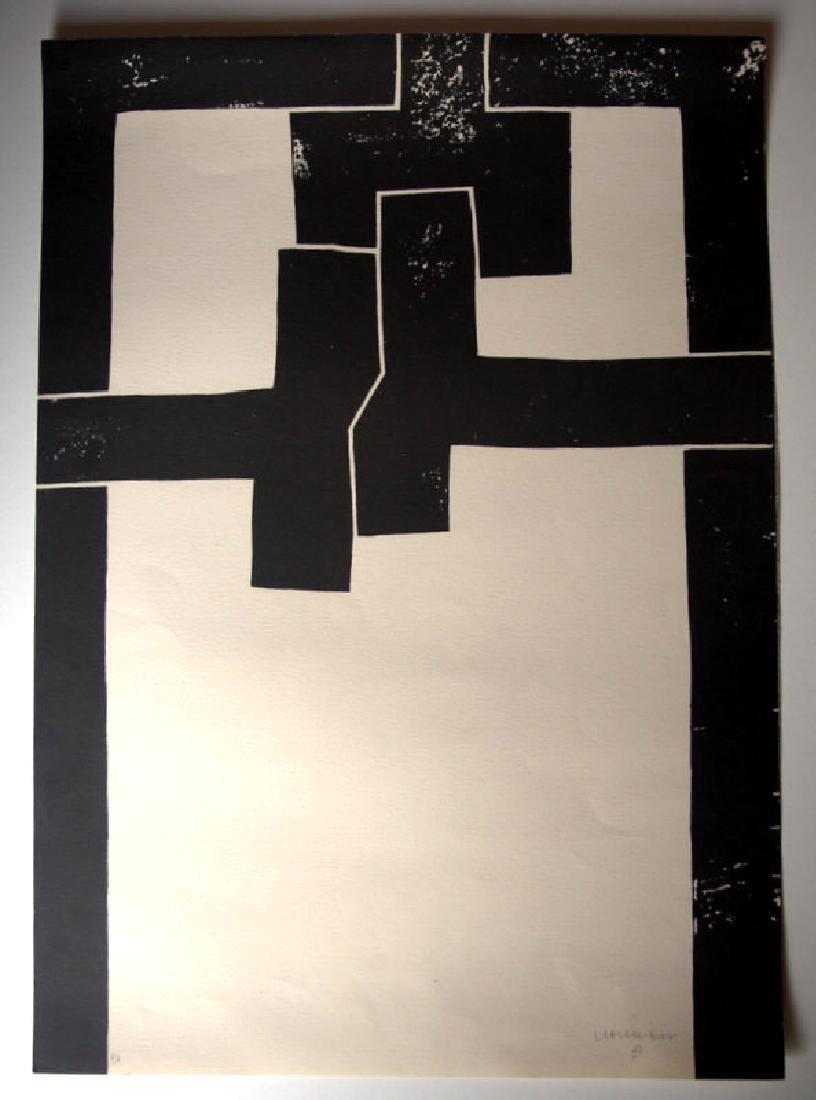 Eduardo Chillida , lithograph signed in pencil