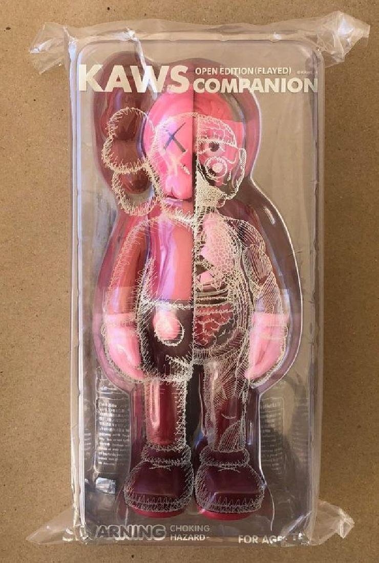 Kaws Dissected Companion Red Blush Flayed Open edition