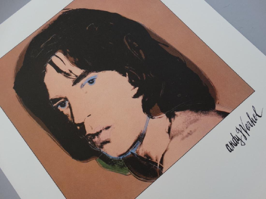 ANDY WARHOL, SIGNED, NUMBERED, MICK JAGGER