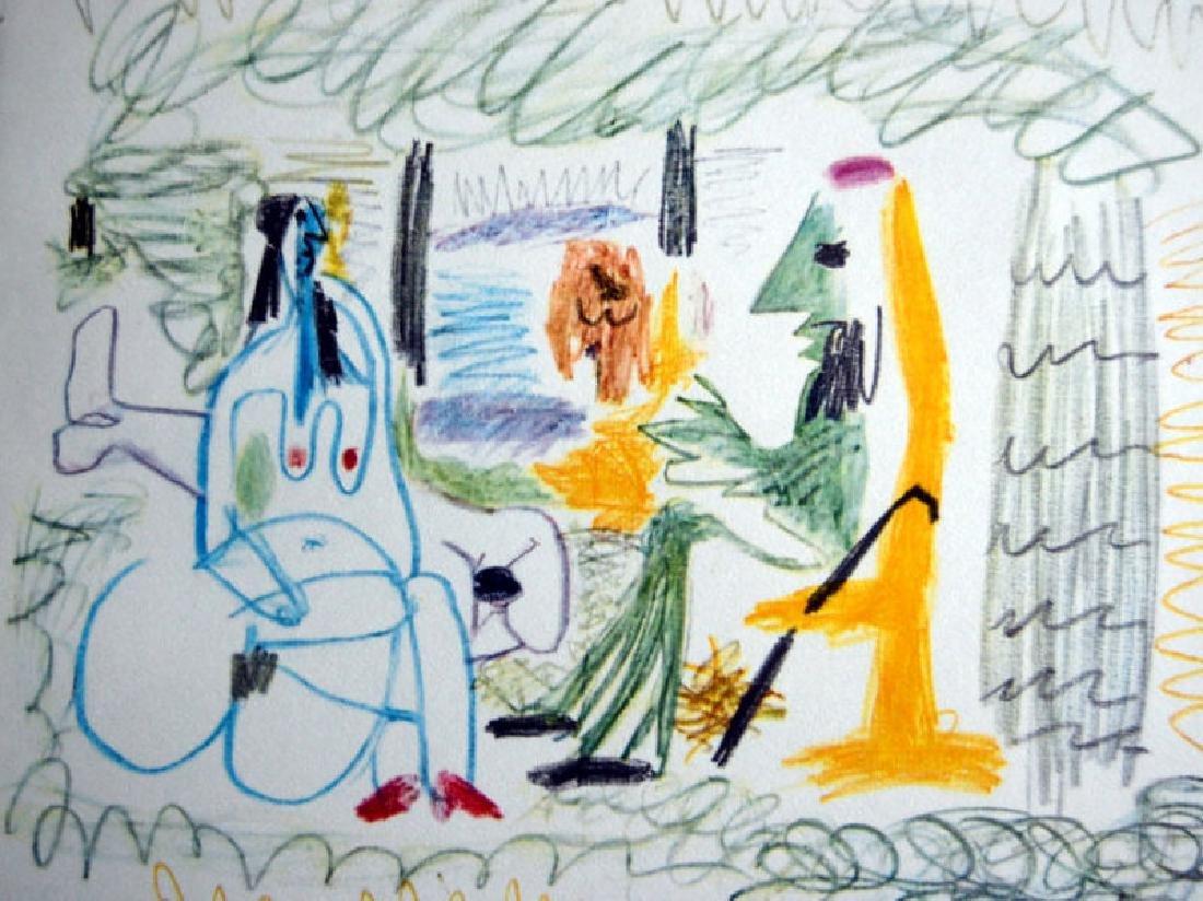 """PABLO PICASSO """"LES DEJEUNERS"""" - 1962- CERTIFIED.,"""
