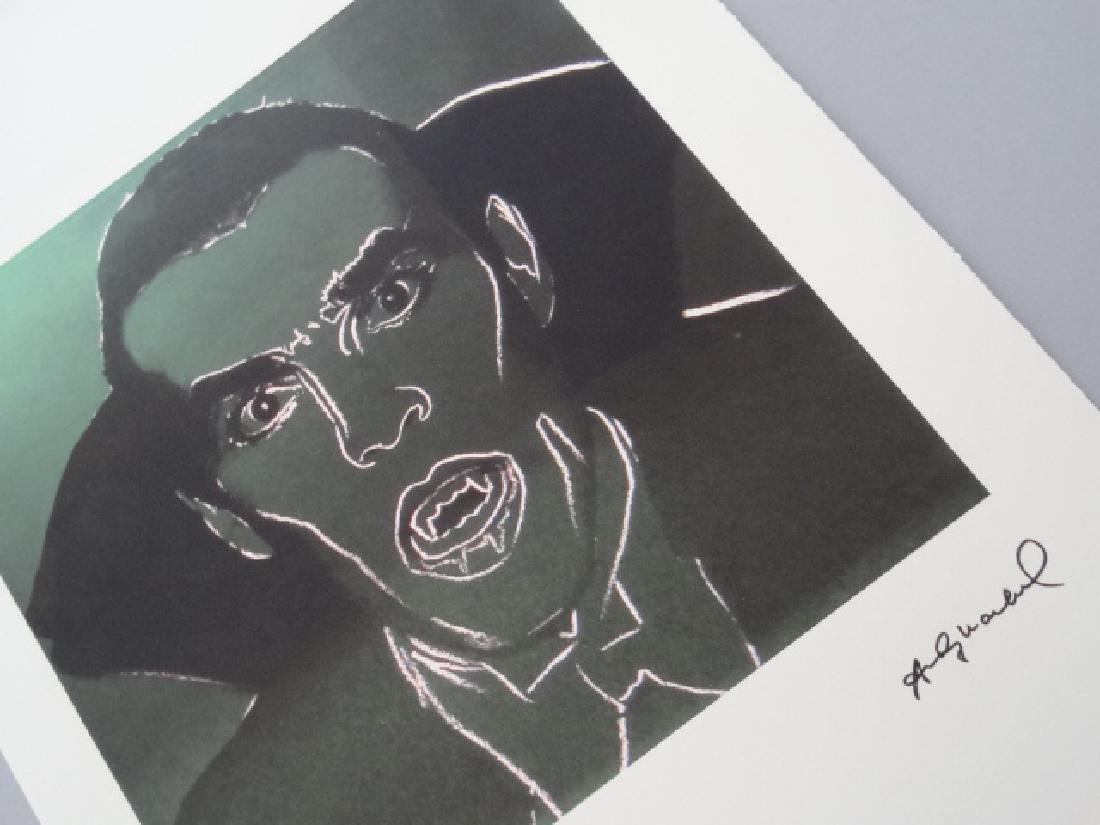 ANDY WARHOL,DRACULA, SIGNED, NUMBERED