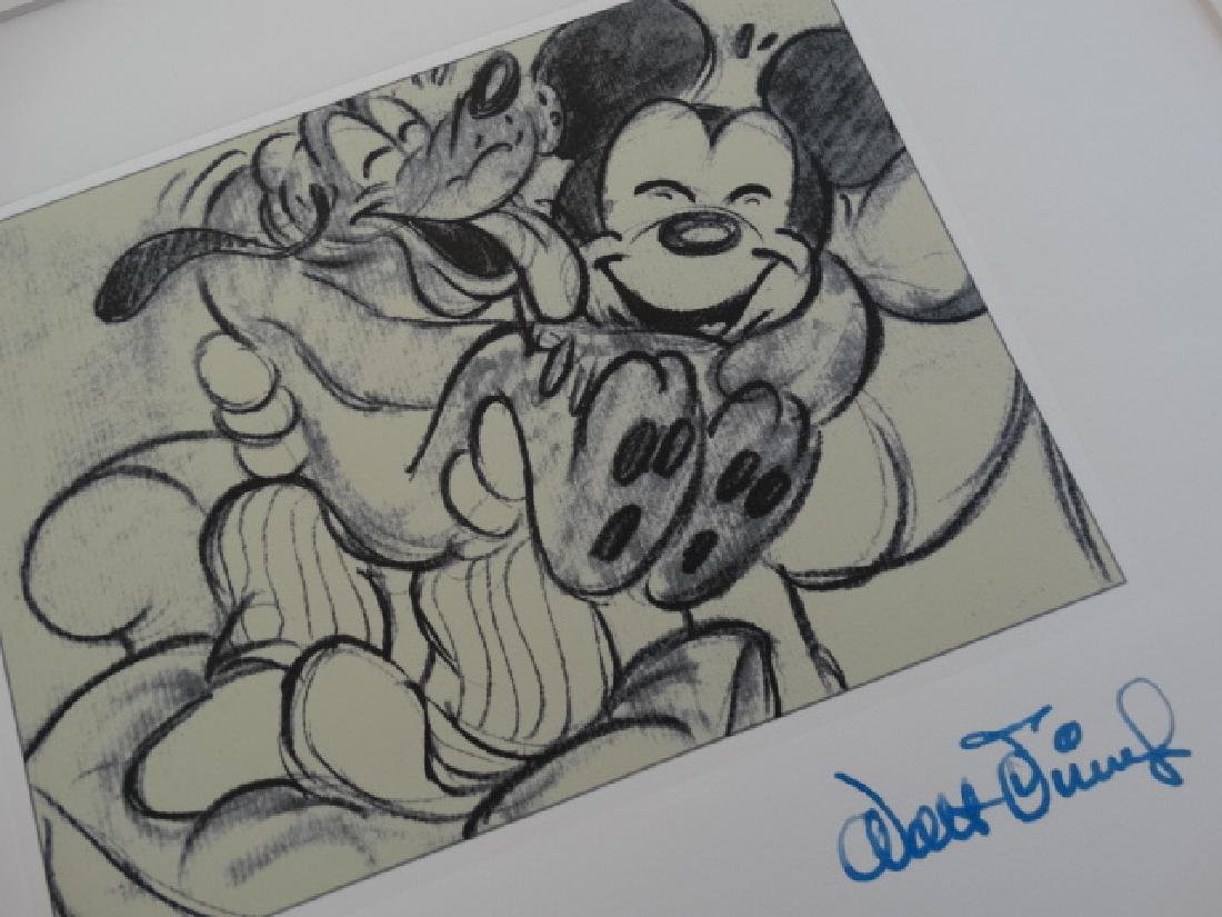 WALT DISNEY, MICKEY MOUSE, ETCHING