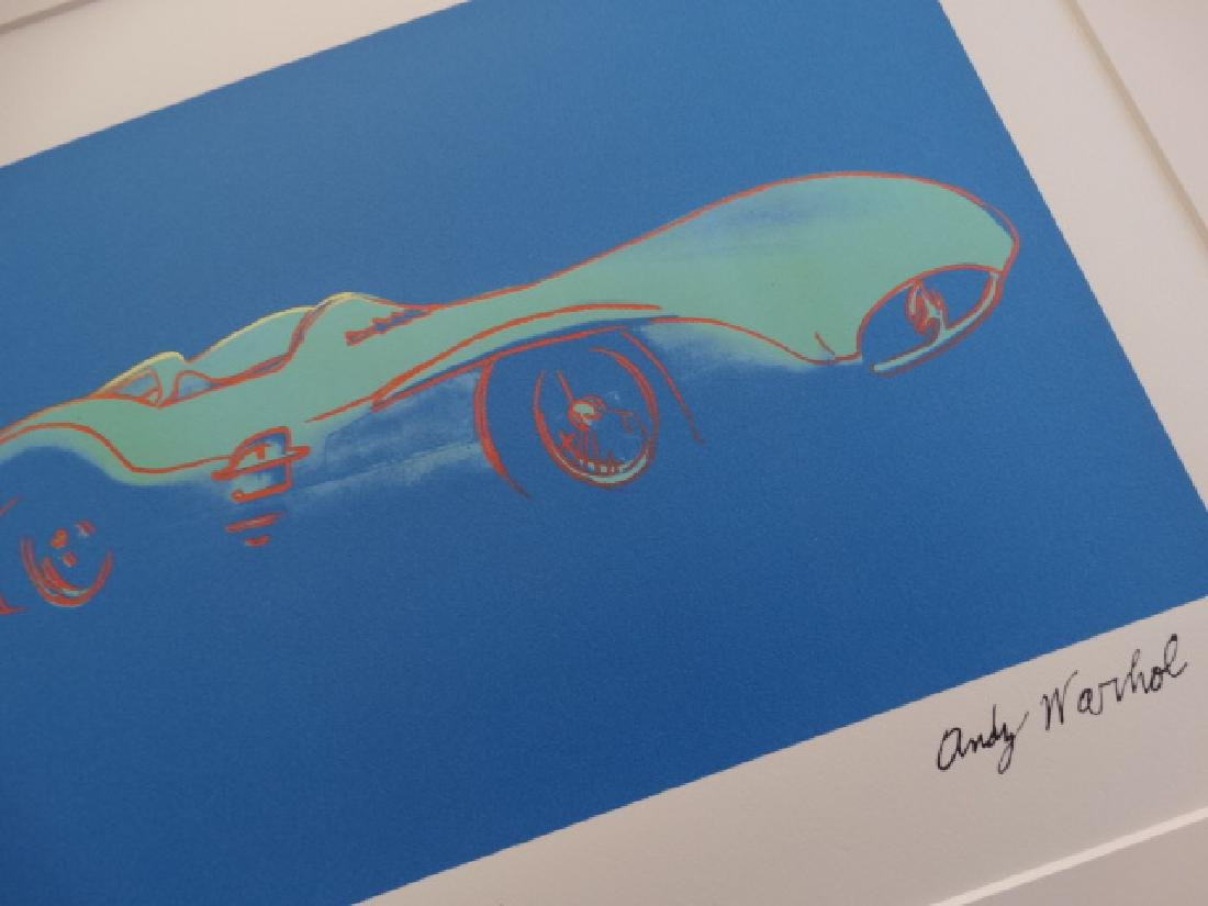 ANDY WARHOL, MERCEDES, NUMBERED