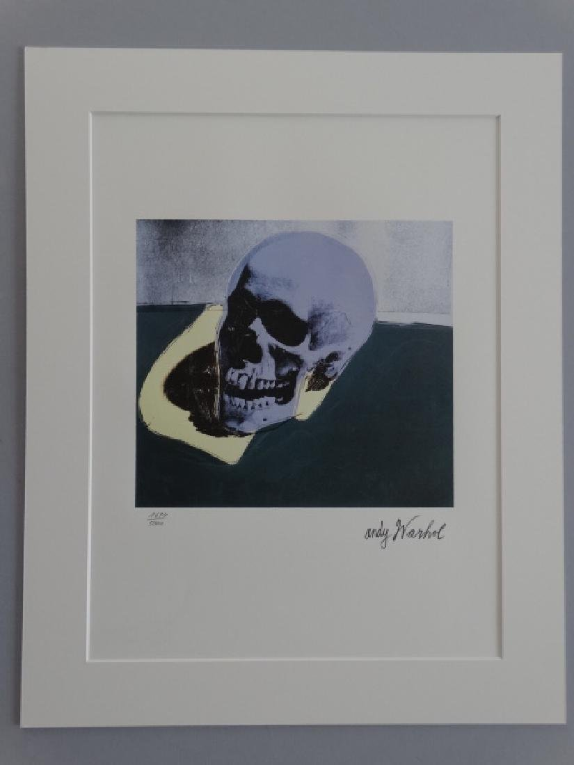 ANDY WARHOL, SIGNED, NUMBERED