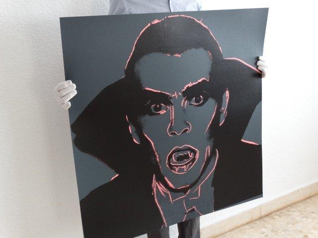 Andy Warhol, Myths Portfolio Dracula 1981 Silkscreen