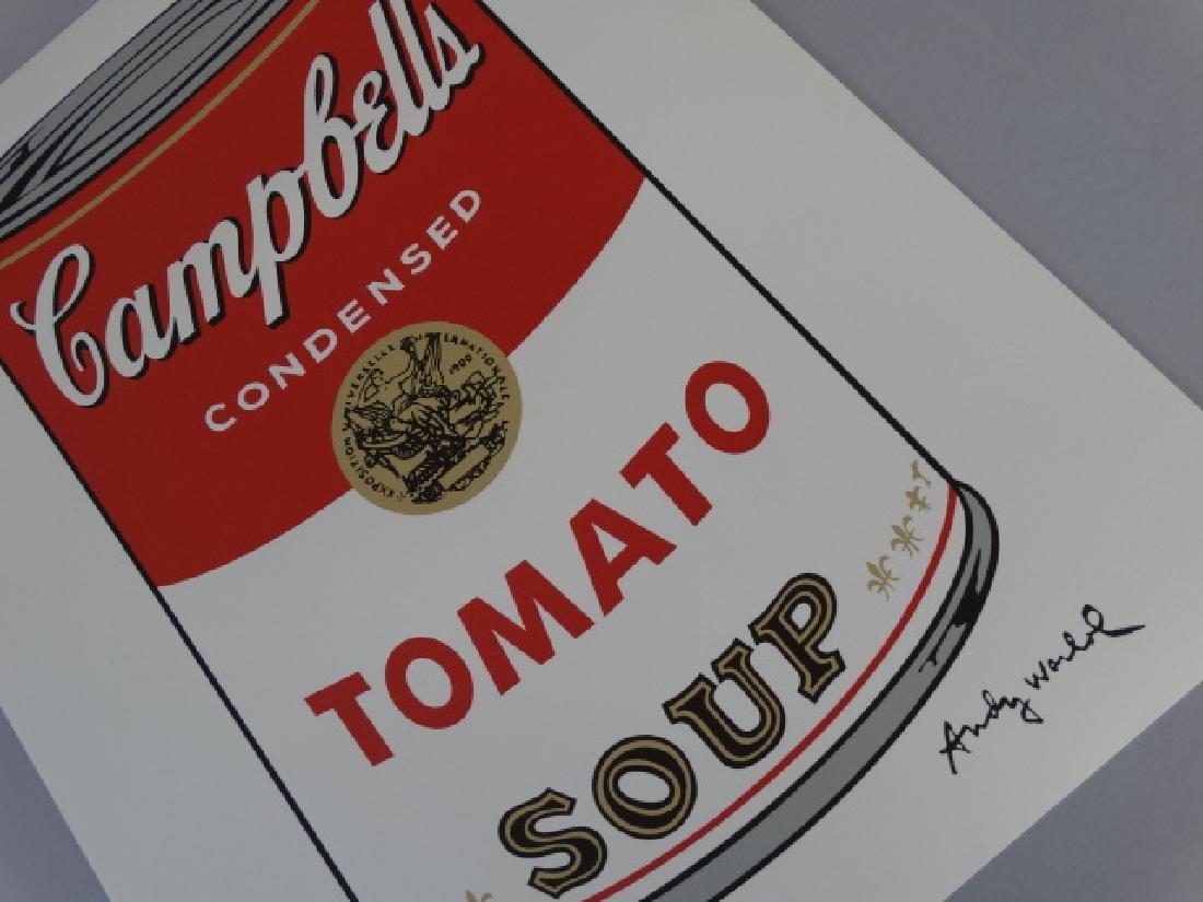 ANDY WARHOL CAMPBELLS TOMATO