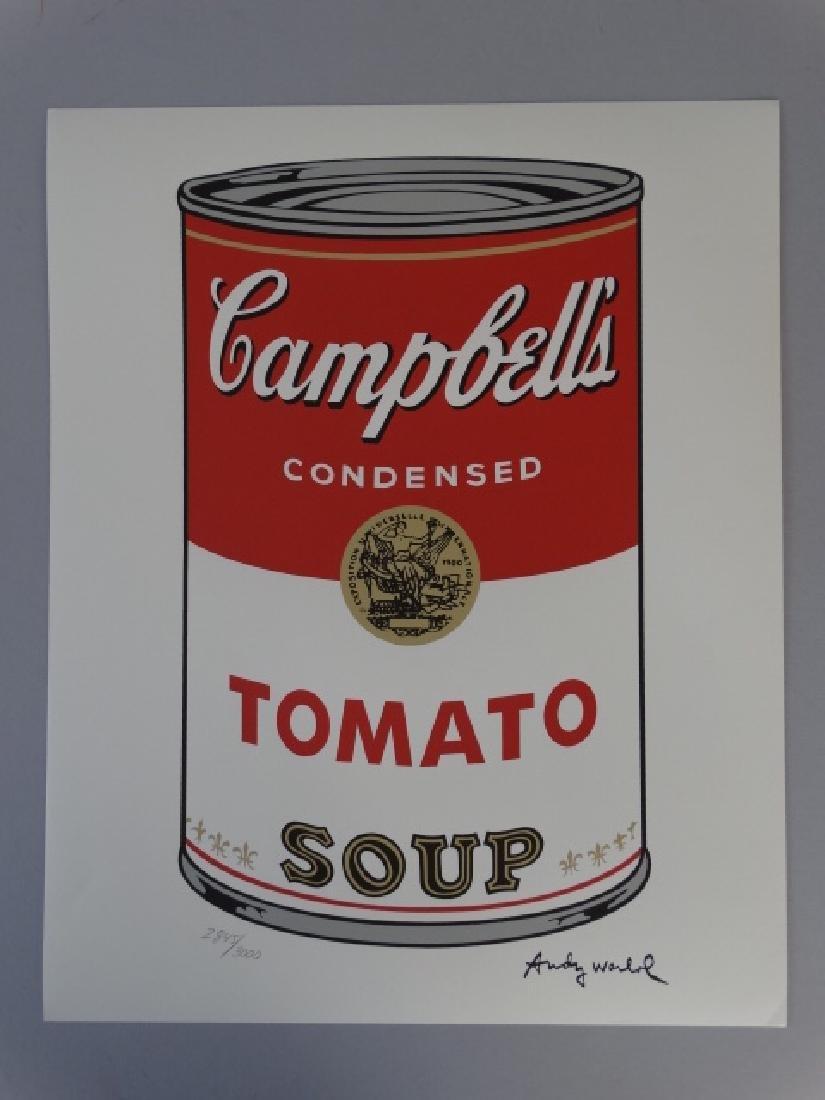 ANDY WARHOL CAMPBELLS TOMATO - 2
