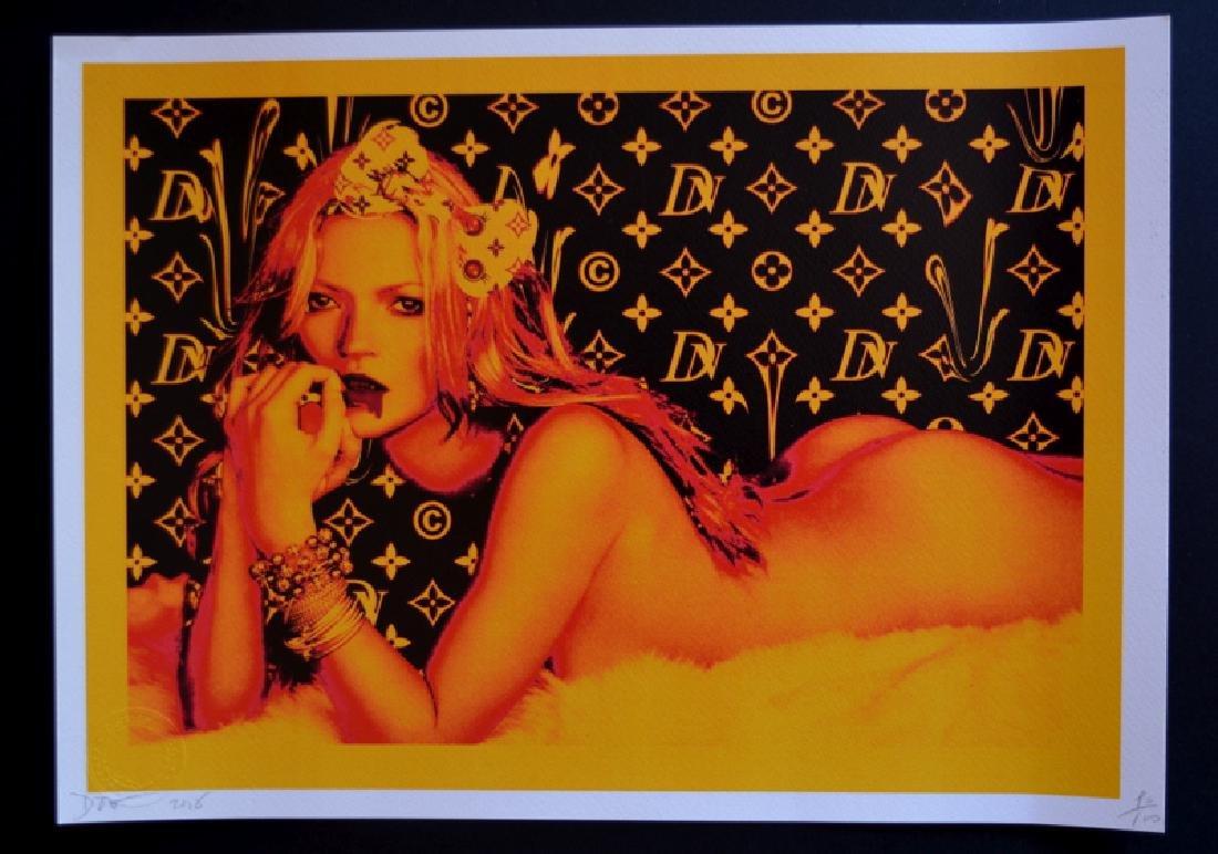 Death NYC Ltd Ed 45x32cm LARGE Signed Graffiti Pop Art - 2