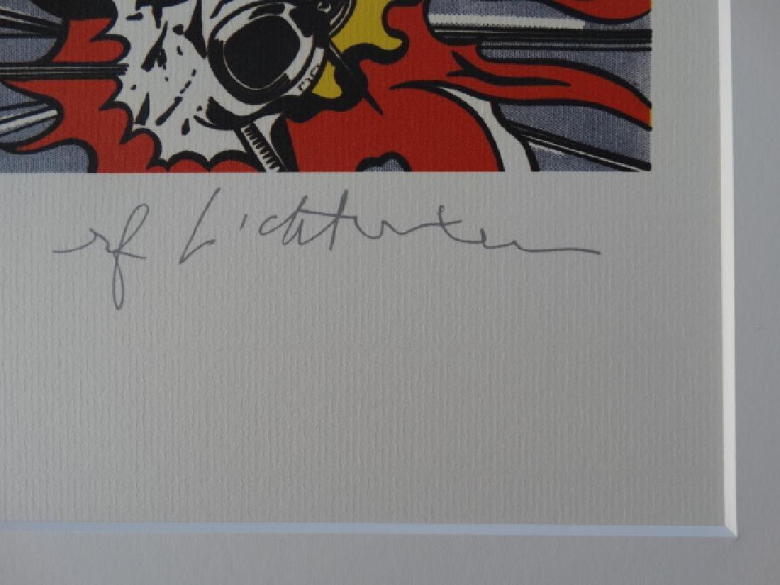 ROY LICHTENSTEIN, SIGNED IN PRINT - 3