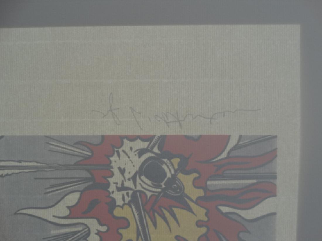 ROY LICHTENSTEIN, SIGNED IN PRINT - 4