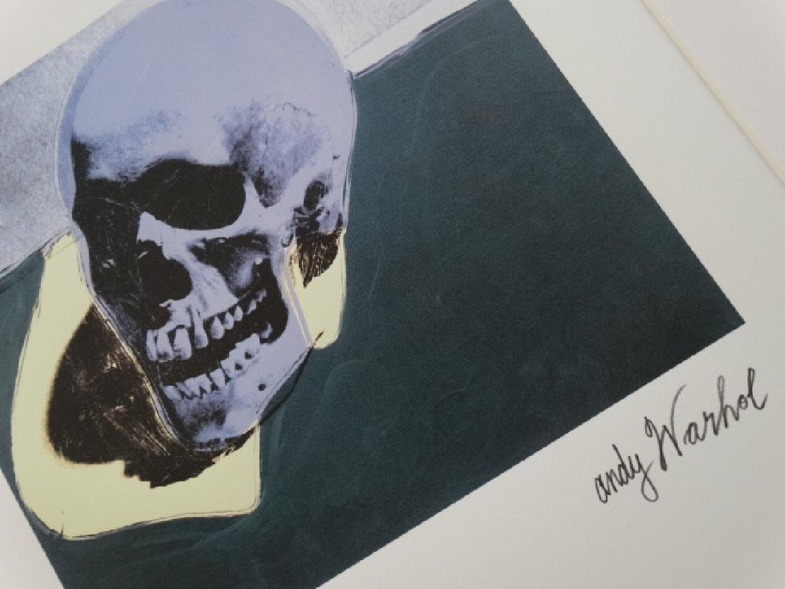 ANDY WARHOL, SIGNED, NUMBERED - 3