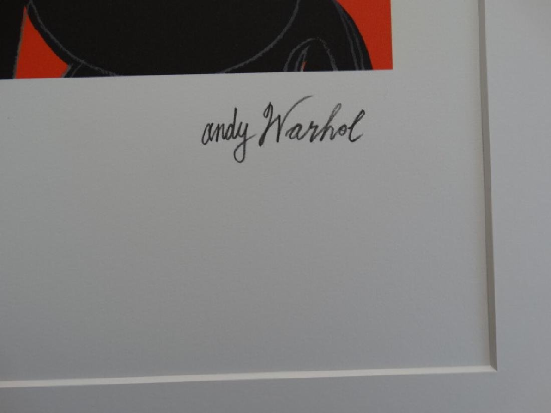 ANDY WARHOL, MICKEY MOUSE, SIGNED, NUMBERED - 4