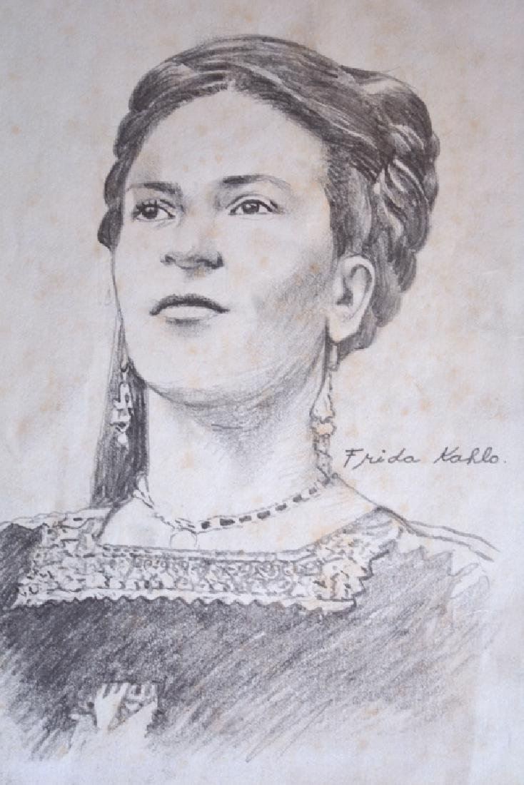 Frida Kahlo, Drawing