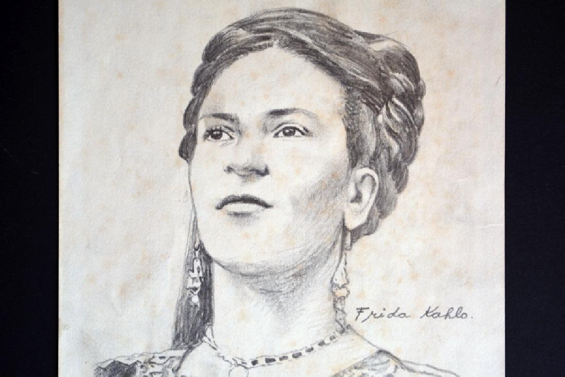 Frida Kahlo, Drawing - 2