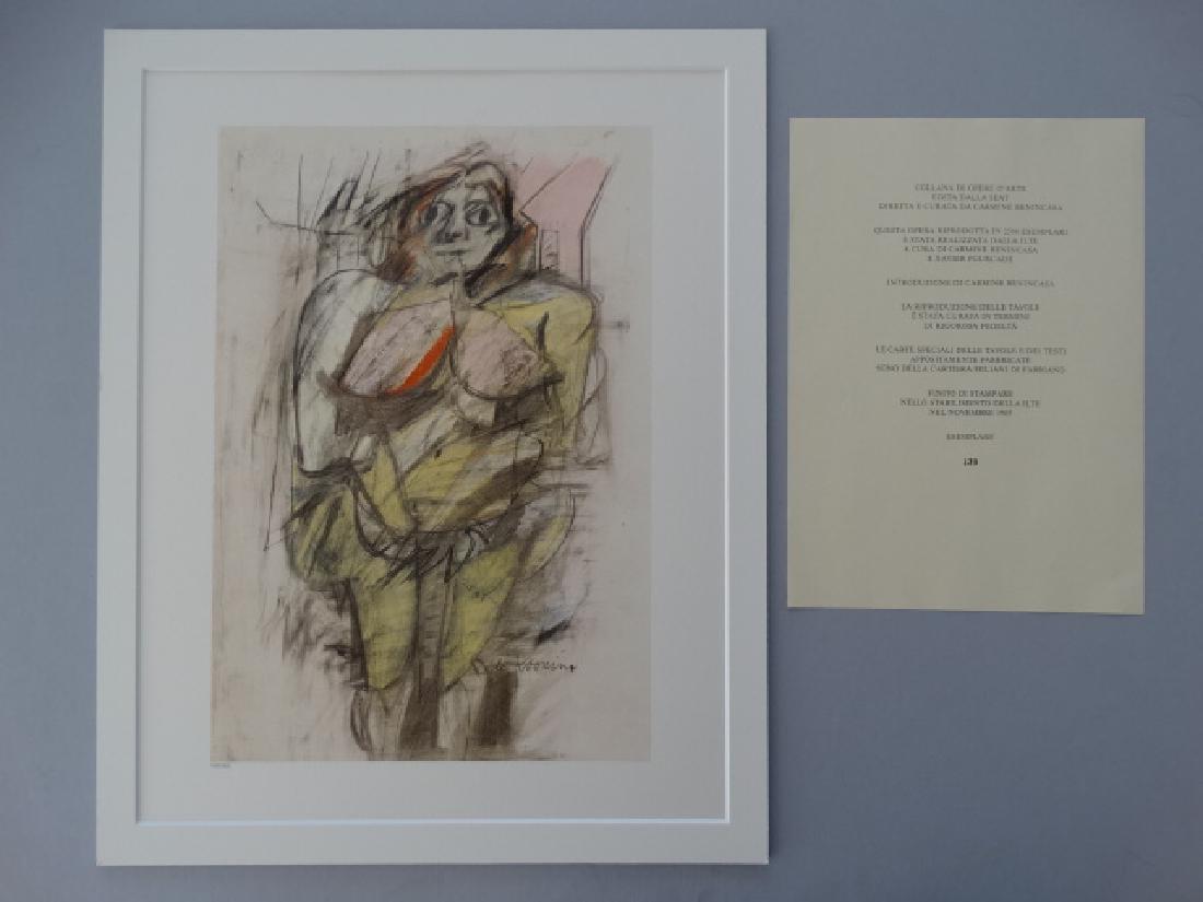Willem de Kooning - Untitled, 1985+Justification - 4