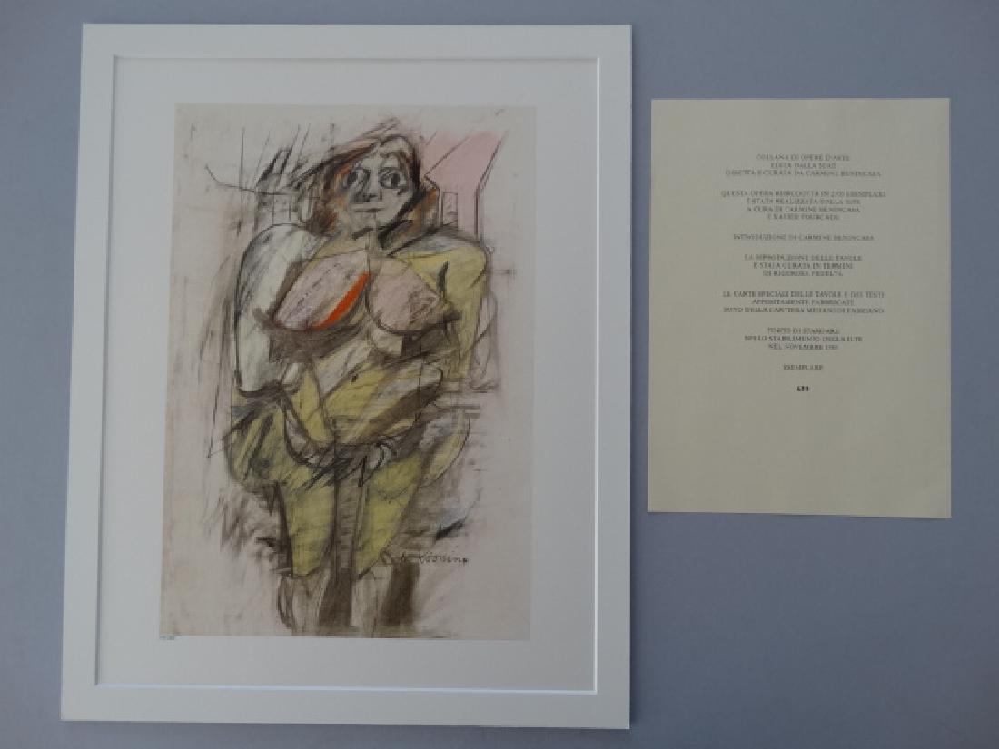 Willem de Kooning - Untitled, 1985+Justification - 6