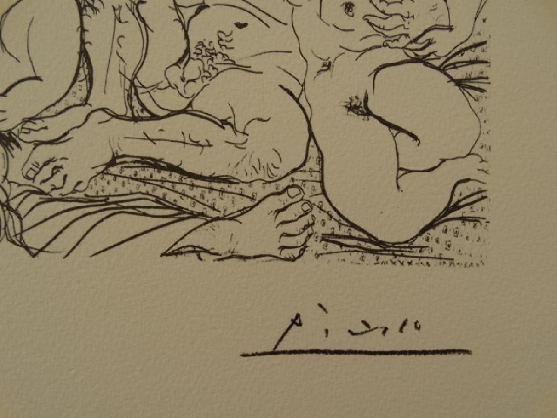 PABLO PICASSO, SPADEM, PLATE SIGNED AND HAND NUMBERED - 3