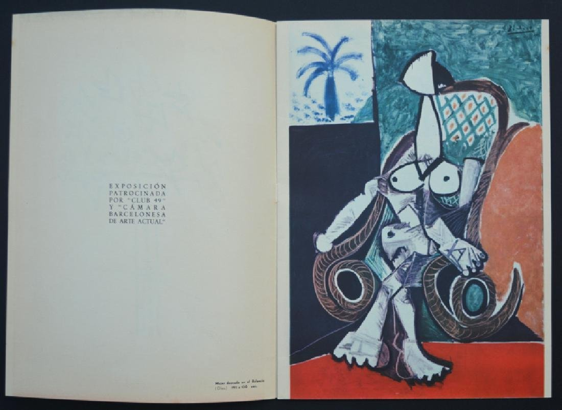 Pablo Picasso drawing attributed waxes,  year 1957 - 6