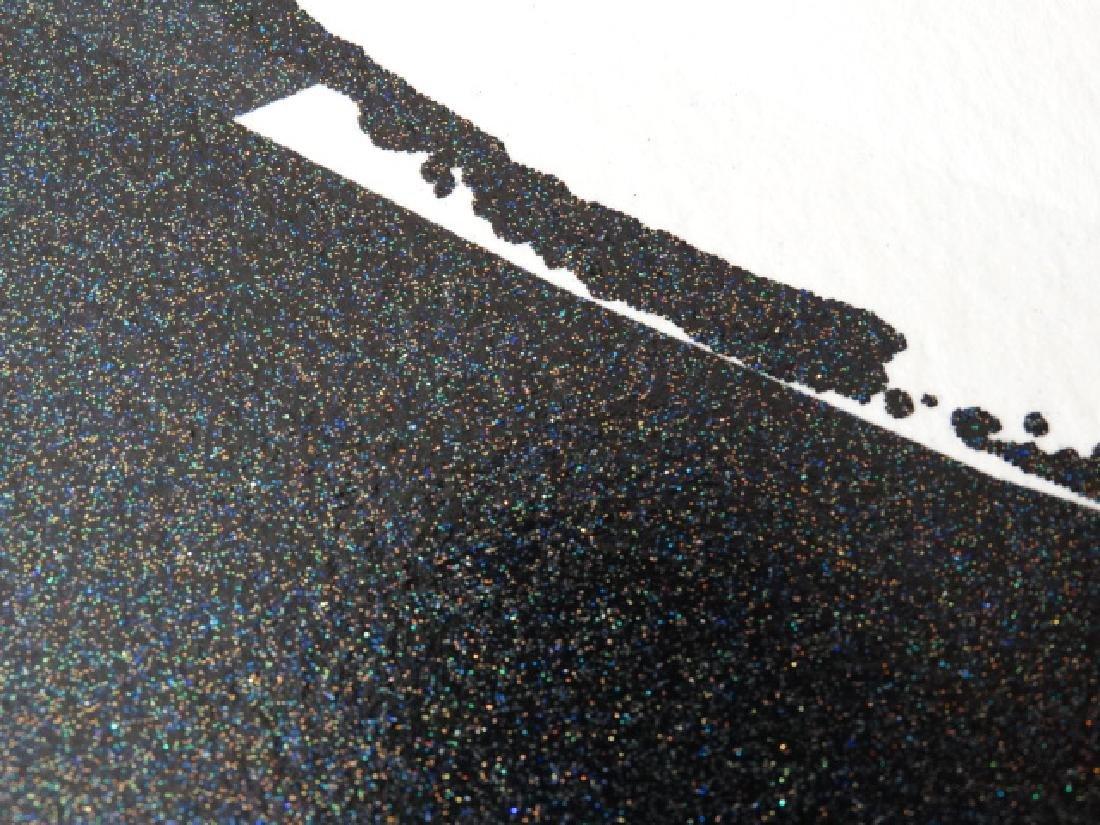 "Andy Warhol ""Mickey Mouse"" Silkscreen, diamond dust - 3"