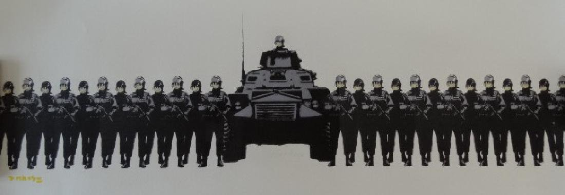BANKSY, Lithography
