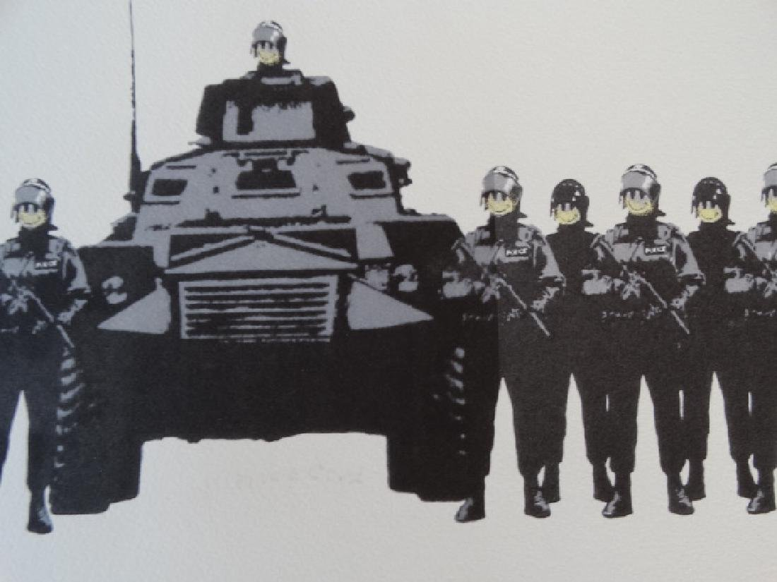 BANKSY, Lithography - 2