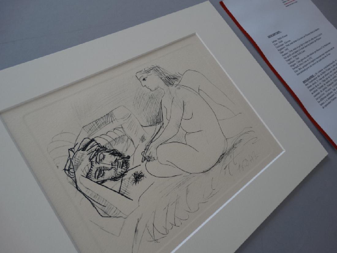 Pablo Picasso, gravure, 1952, very rare