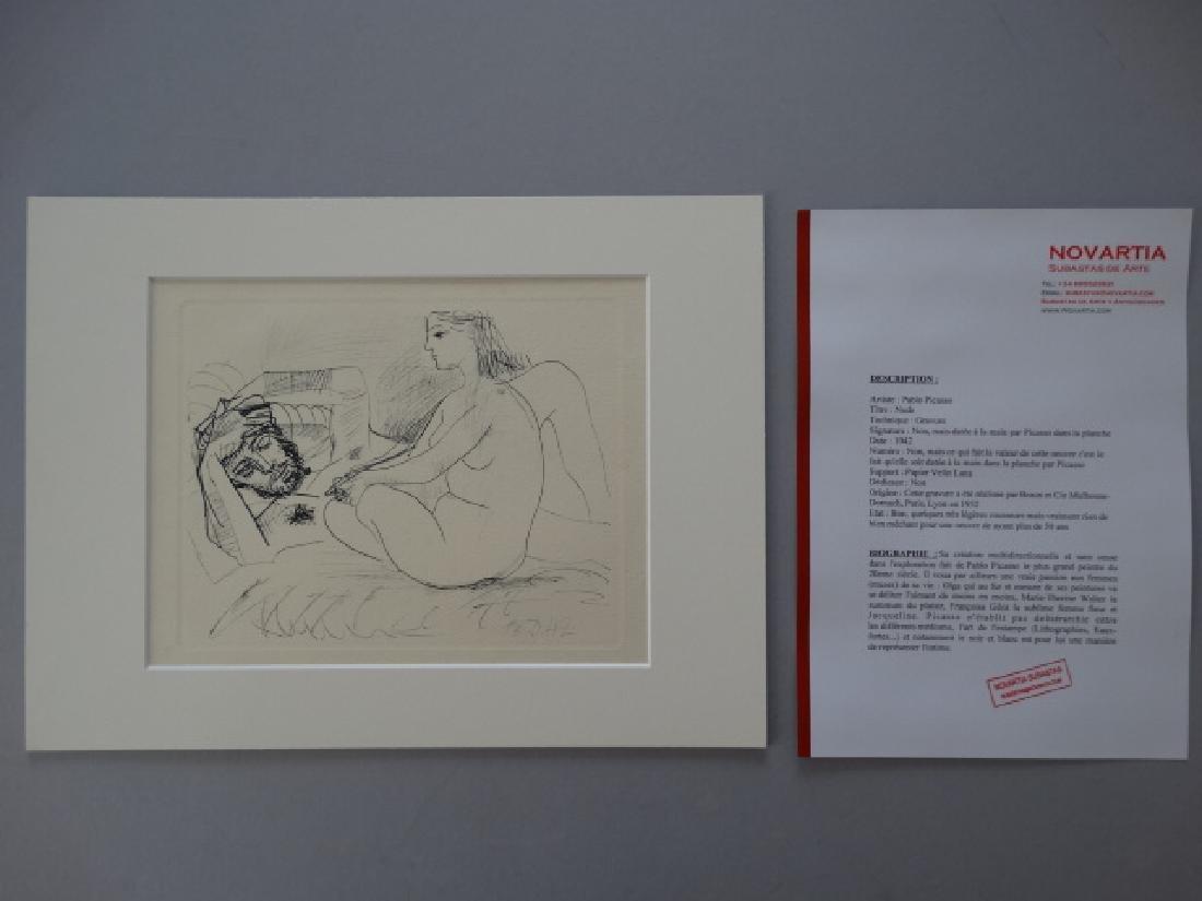 Pablo Picasso, gravure, 1952, very rare - 3