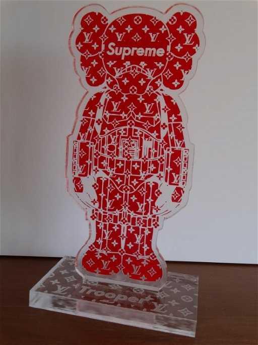 KAWS Supreme Louis Vuitton Stormtrooper - Free invoicing tool kaws online store