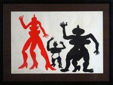 """Alexander Calder: """"Figures for the illustration"""""""