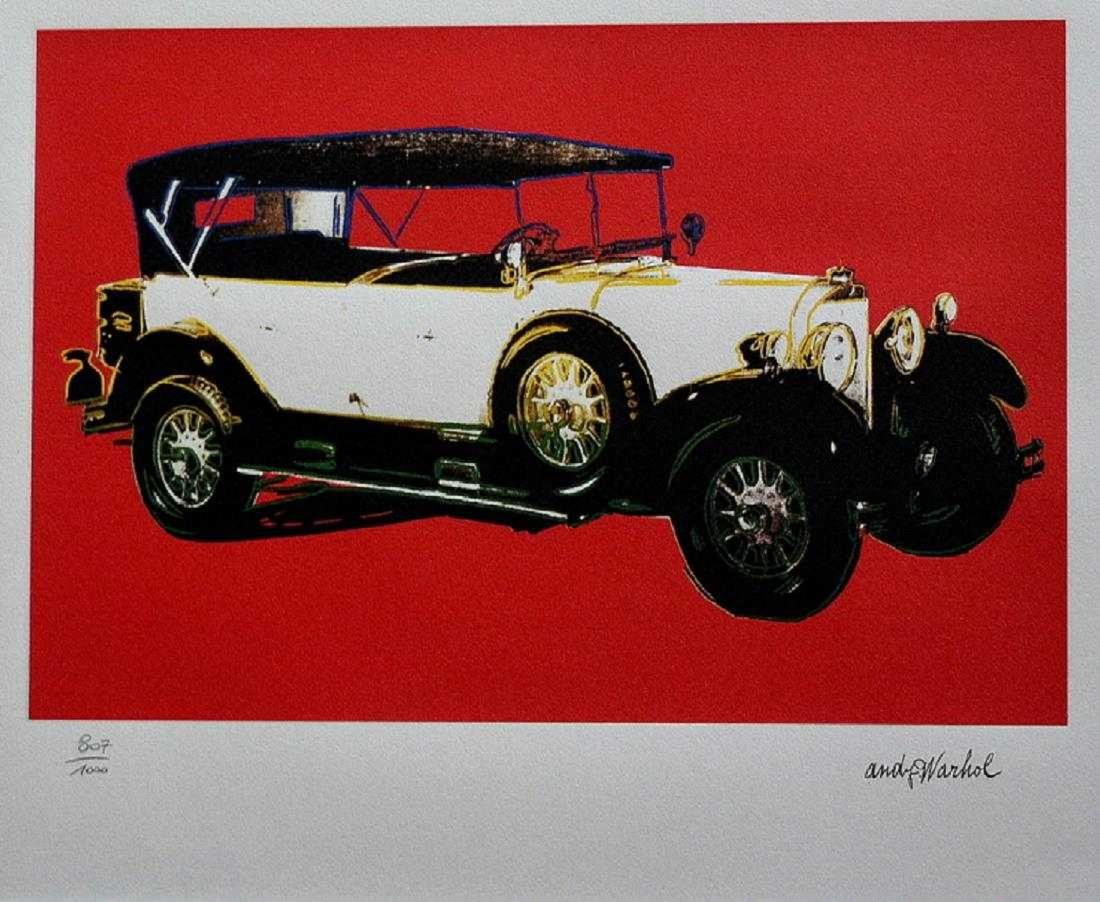 MERCEDES TOURENWAGEN TYP 400 Year 1925 Andy Warhol