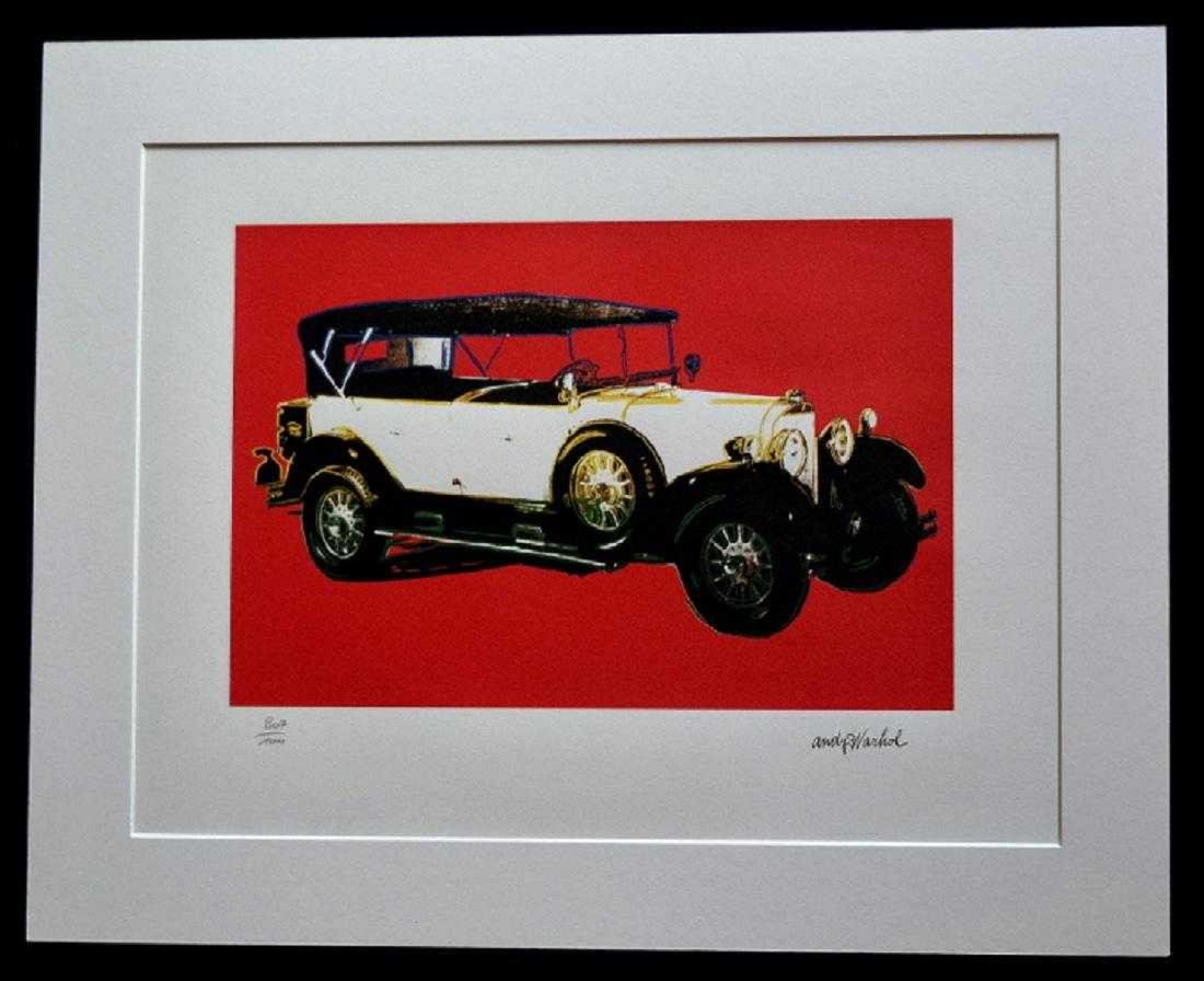 MERCEDES TOURENWAGEN TYP 400 Year 1925 Andy Warhol - 2