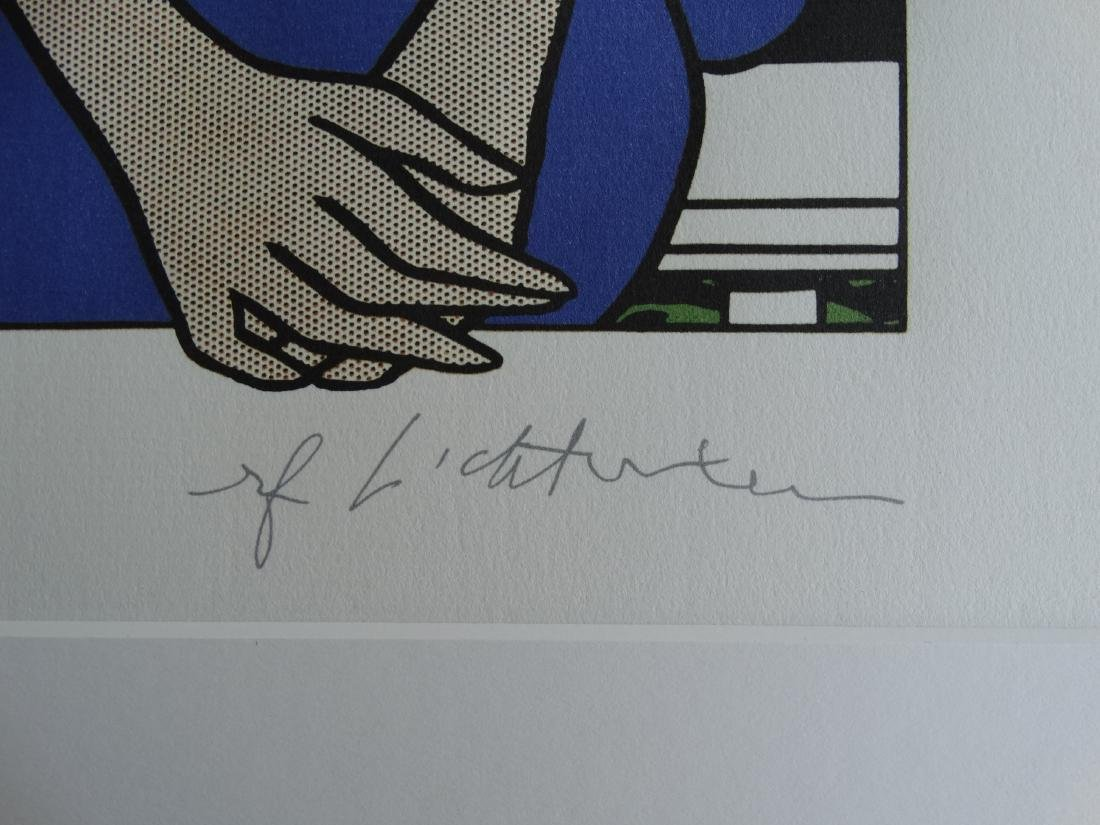 ROY LICHTENSTEIN, SIGNED IN PRINT - 2