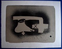 Antoni Tapies ERINNERUNGEN Lithograph Signed by hand.