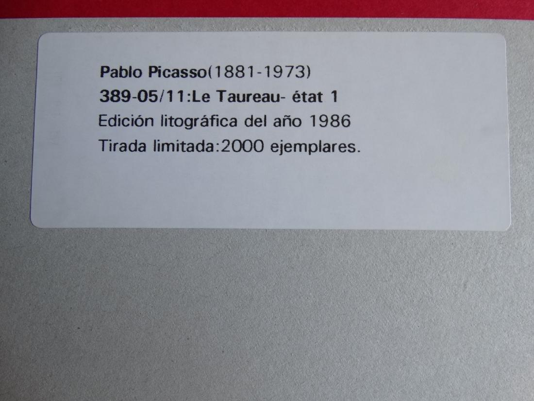 PABLO PICASSO, 1986 - 4