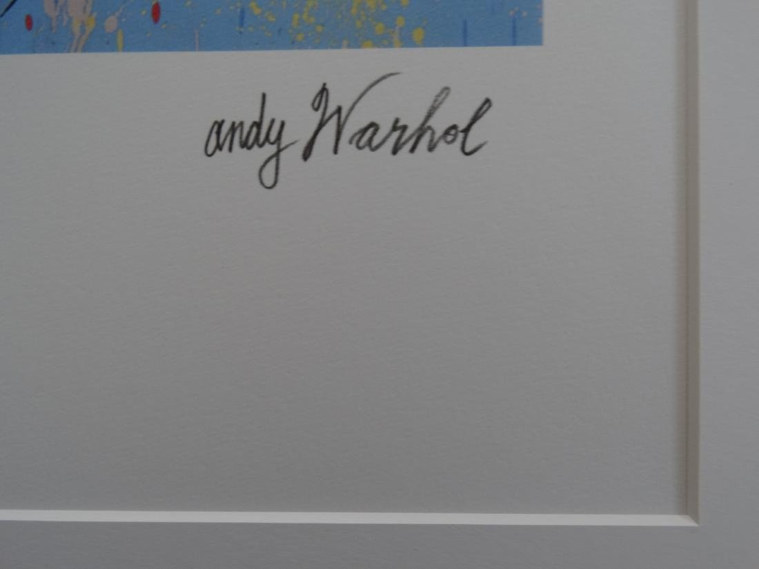 ANDY WARHOL, SUPERMAN, SIGNED, NUMBERED - 4