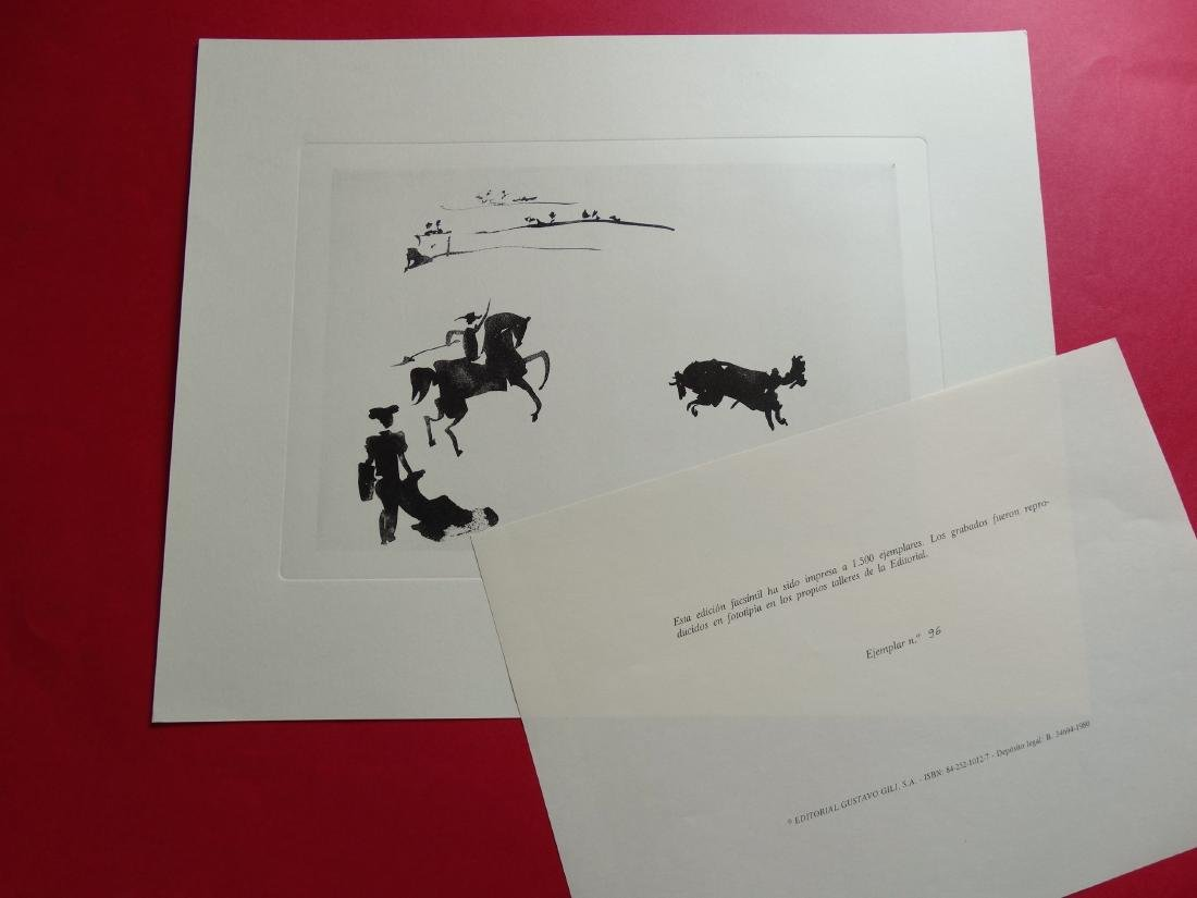 PABLO PICASSO, 1980, Bullfighter