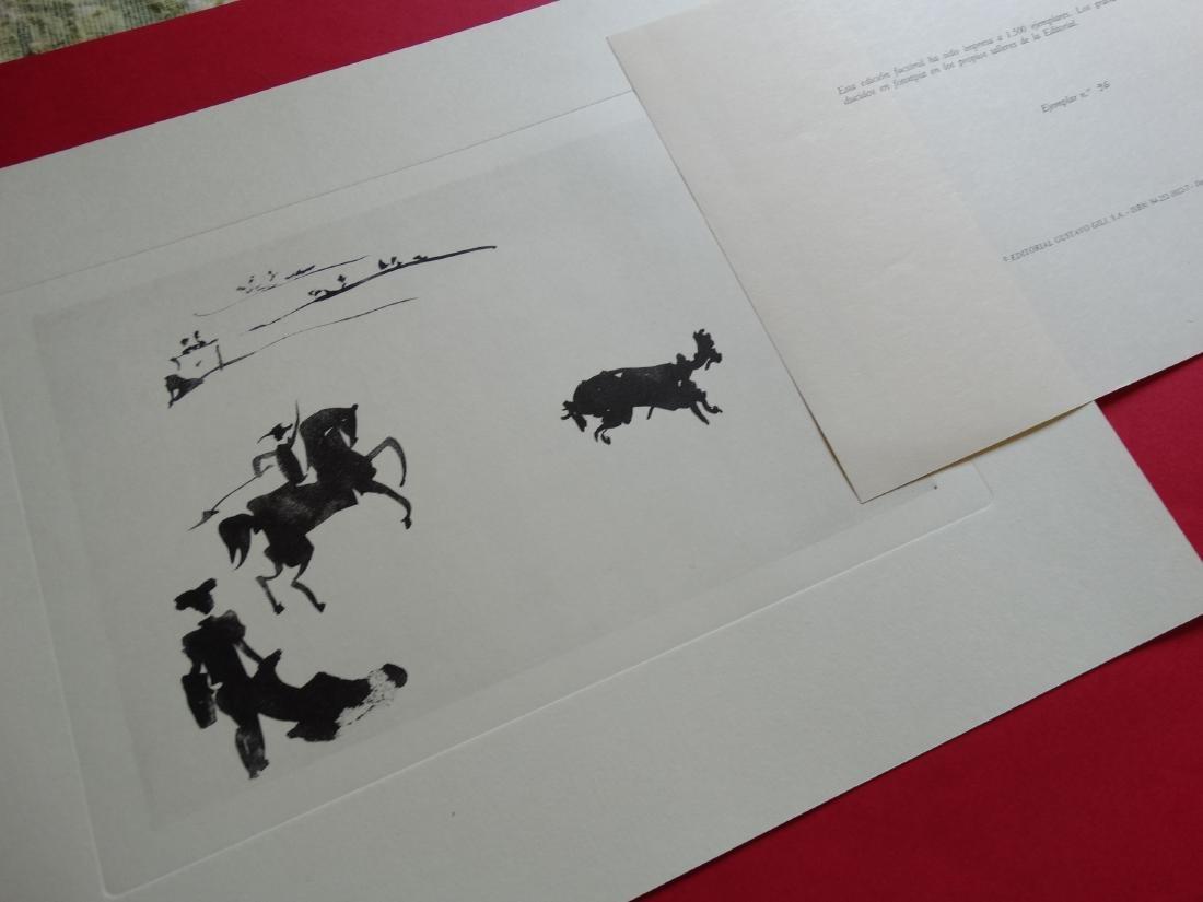 PABLO PICASSO, 1980, Bullfighter - 3