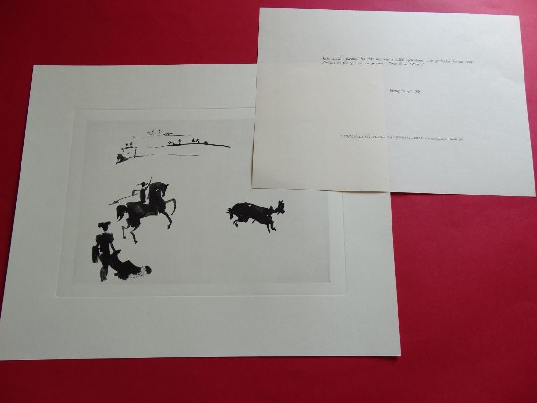 PABLO PICASSO, 1980, Bullfighter - 6