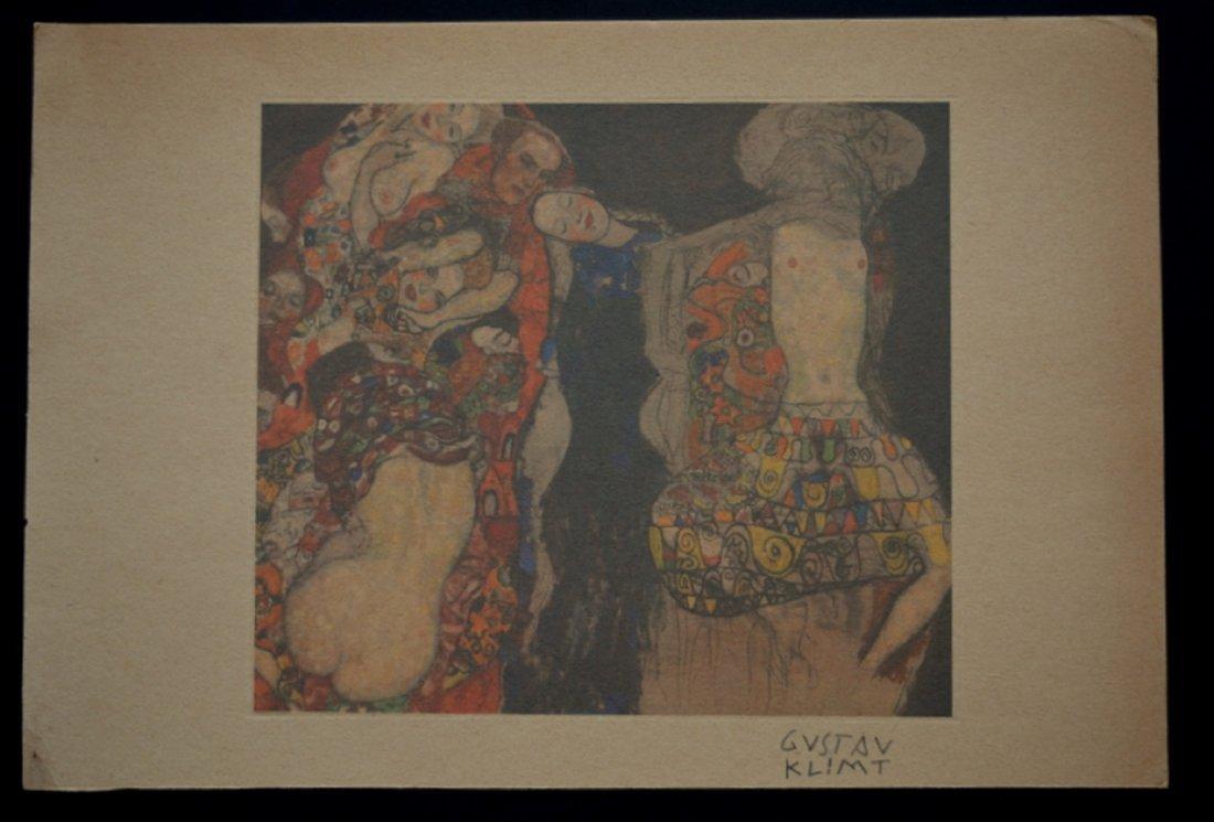 Gustav Klimt, lithograph