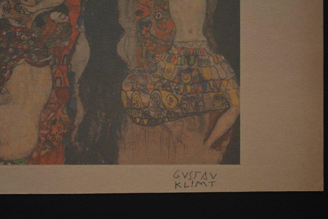 Gustav Klimt, lithograph - 2