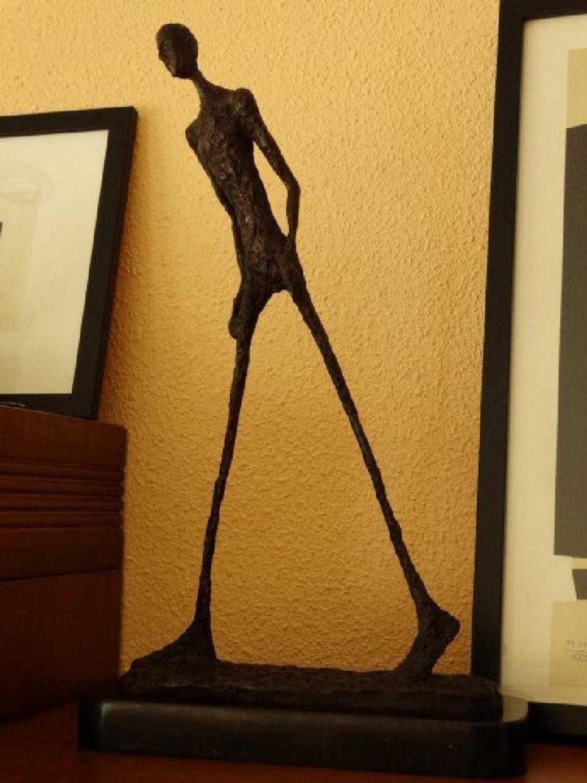 Alberto Giacometti, signed bronze sculpture - 3