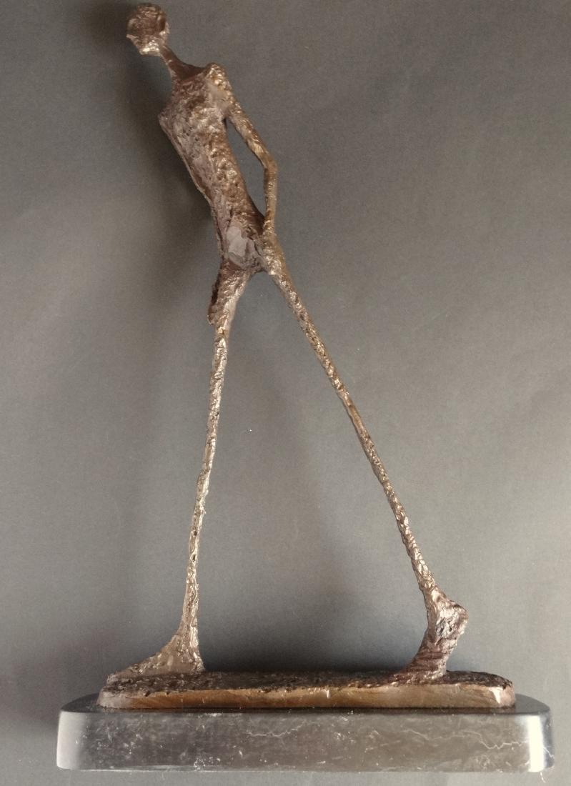 Alberto Giacometti, signed bronze sculpture - 5