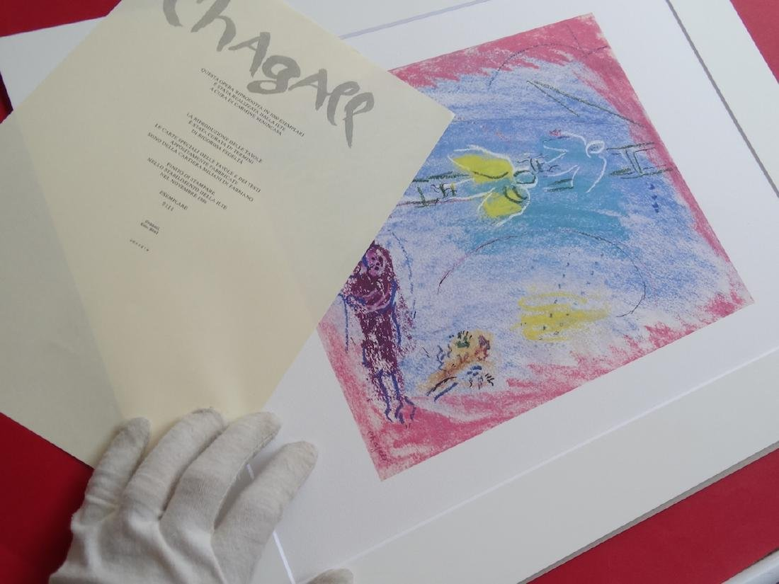 Marc Chagall - Untitled, 1985+Justification