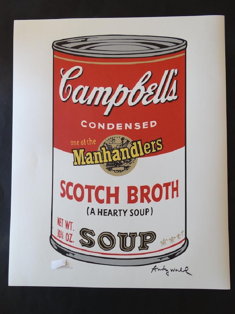 ANDY WARHOL CAMPBELLS TOMATO
