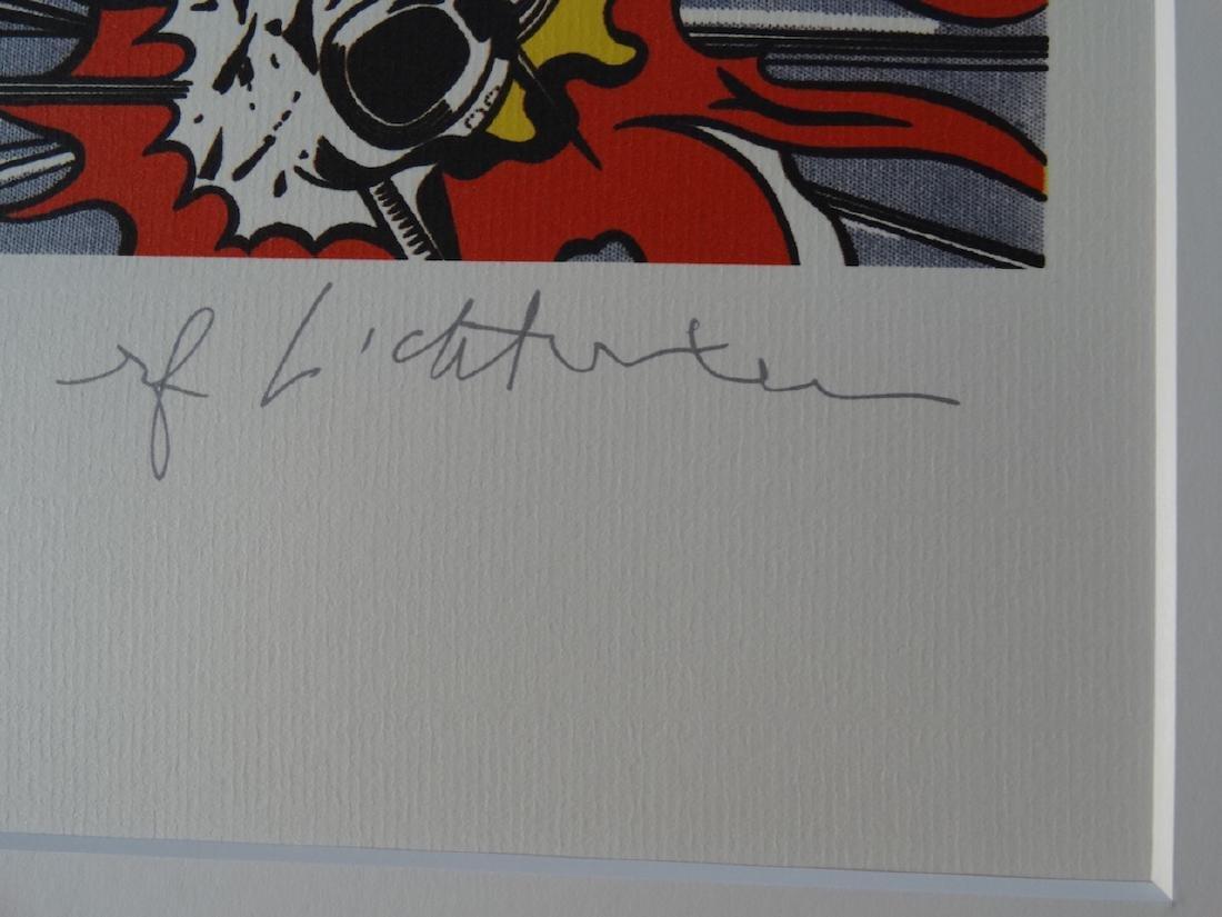 ROY LICHTENSTEIN, SIGNED IN PRINT - 2