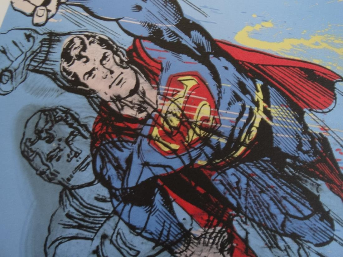 ANDY WARHOL, SUPERMAN, SIGNED, NUMBERED - 3