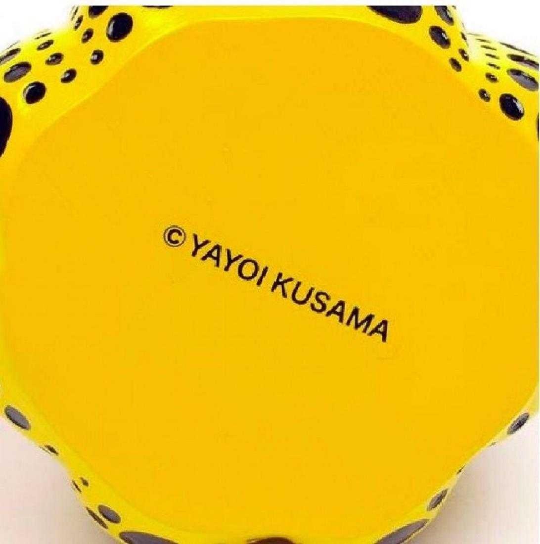 YAYOI KUSAMA PUMPKIN Sculpture YELLOW POLKA DOTS - 4