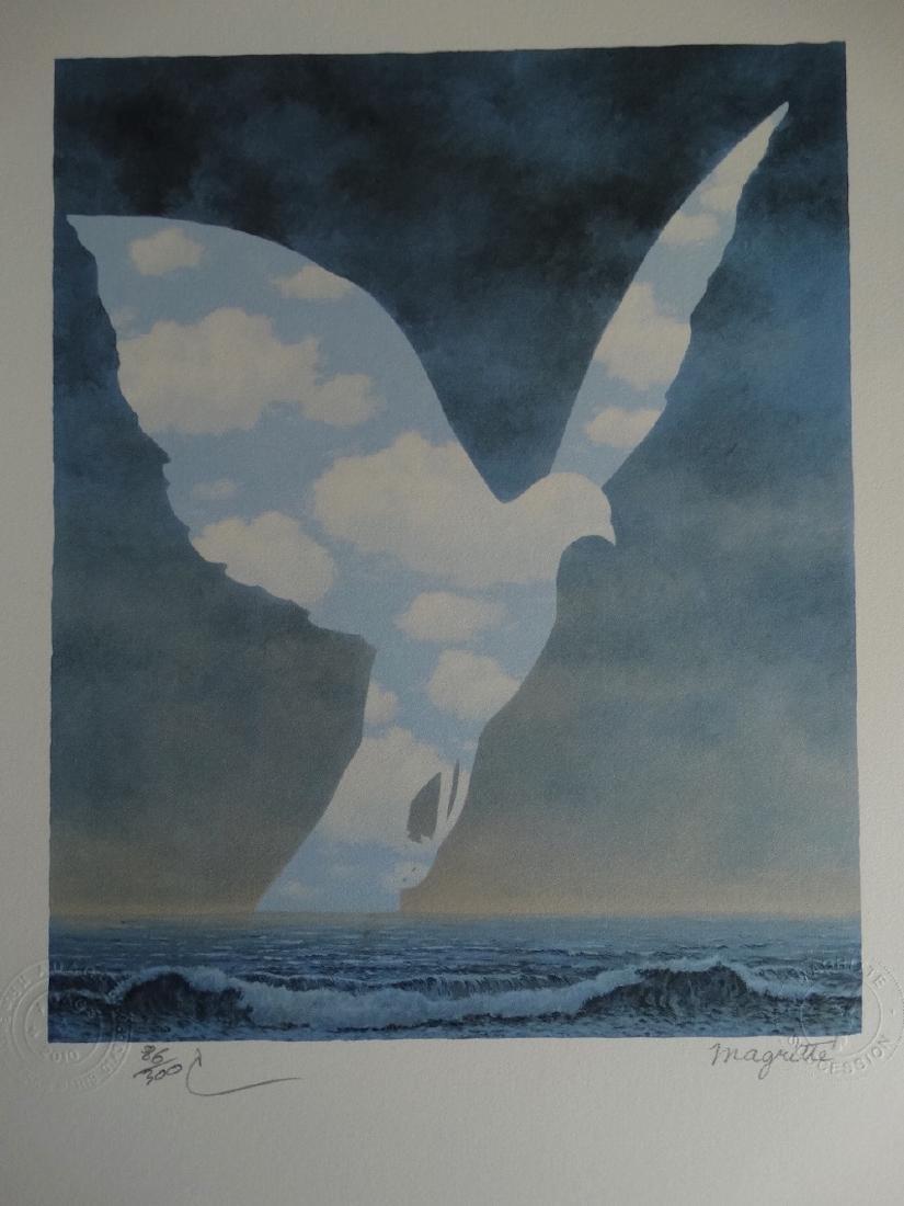 Rene Magritte Composition, COA